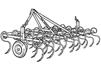 Older Kongskilde seedbed cultivators