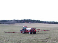 Older fertilizer spreaders